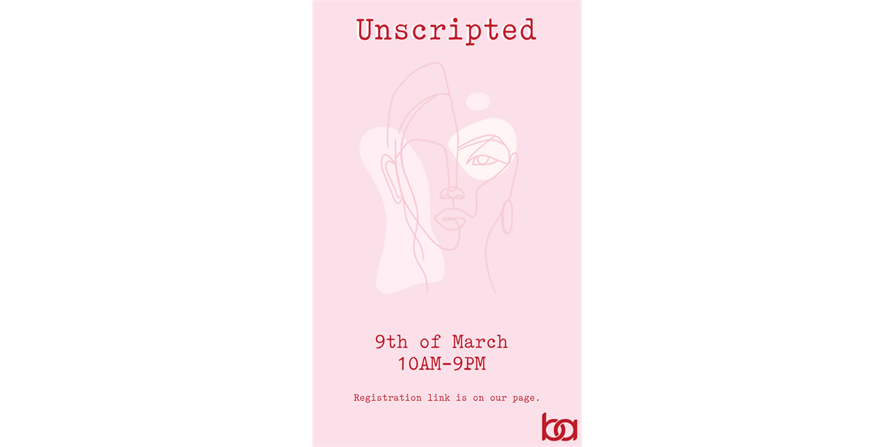 Unscripted Event Logo