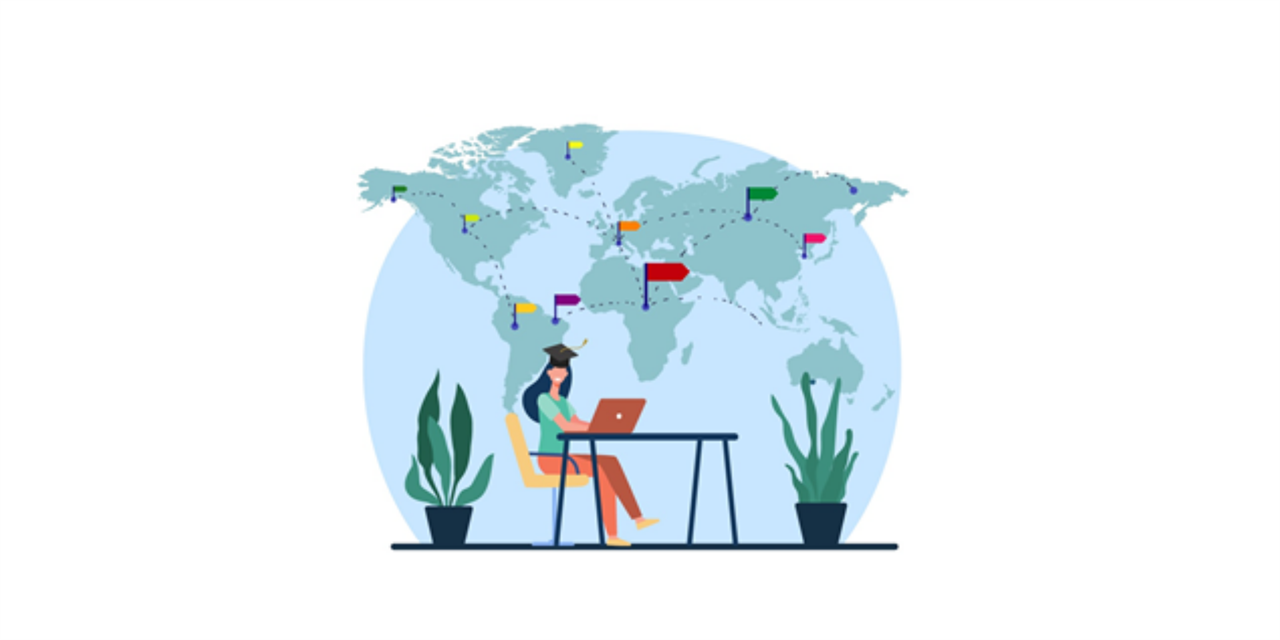 Virtual International Graduate Study Fair Event Logo