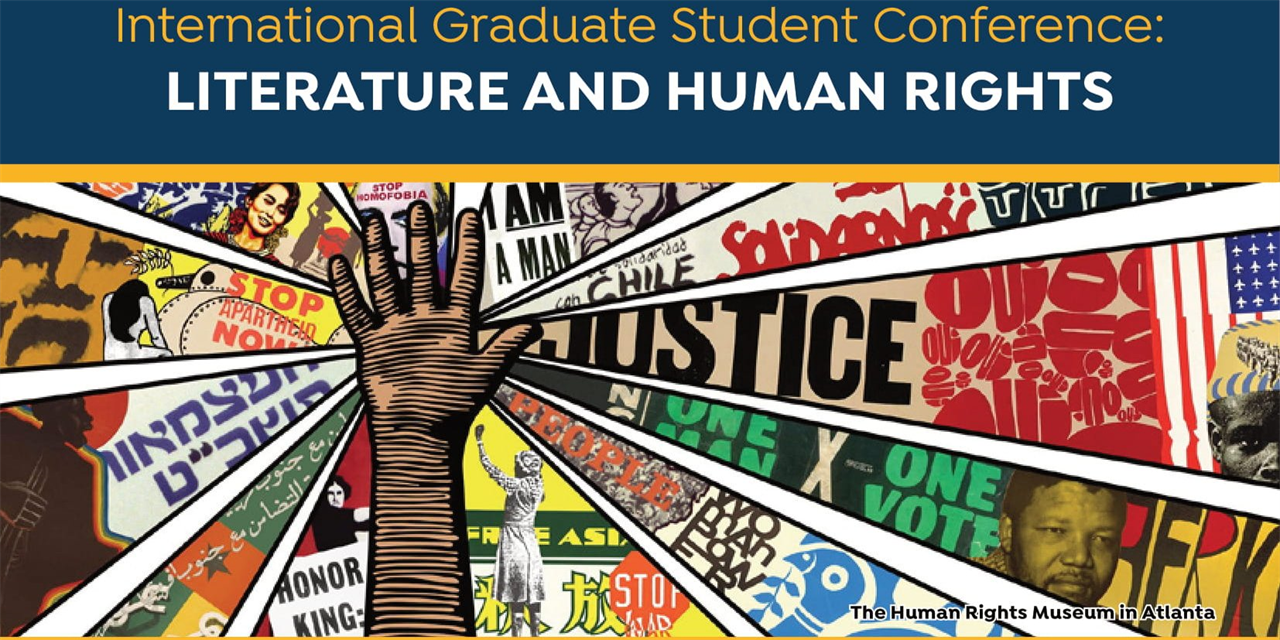 International Graduate Student Conference: LITERATURE AND HUMAN RIGHTS Event Logo