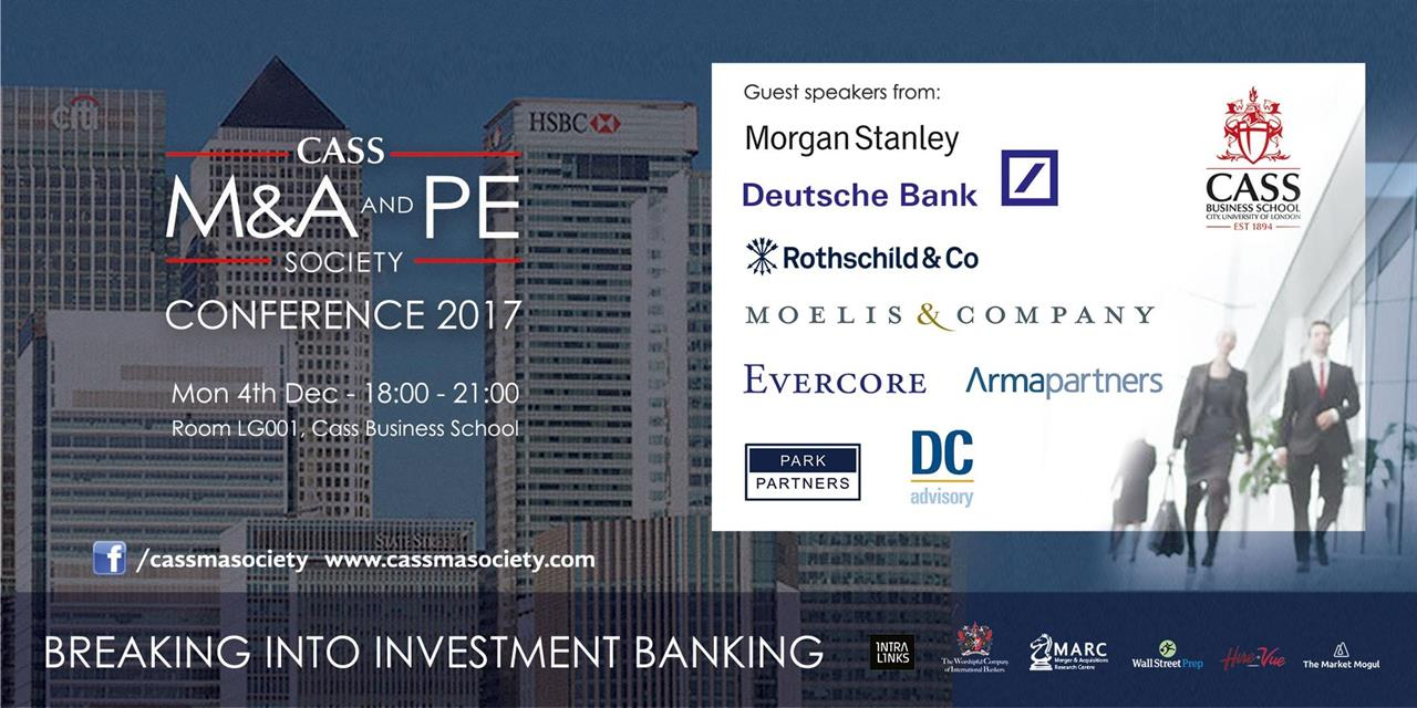 Breaking into Investment Banking Event Logo