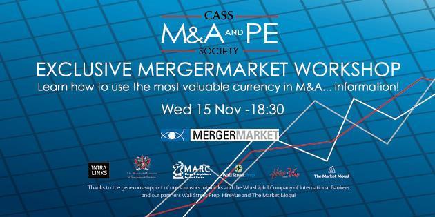 Exclusive Mergermarket Workshop Event Logo
