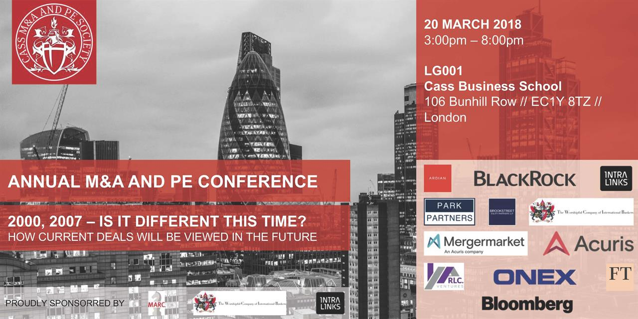 Annual M&A and PE Conference Event Logo