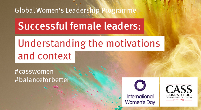 Join our next event - Cass Global Women's Leadership Programme