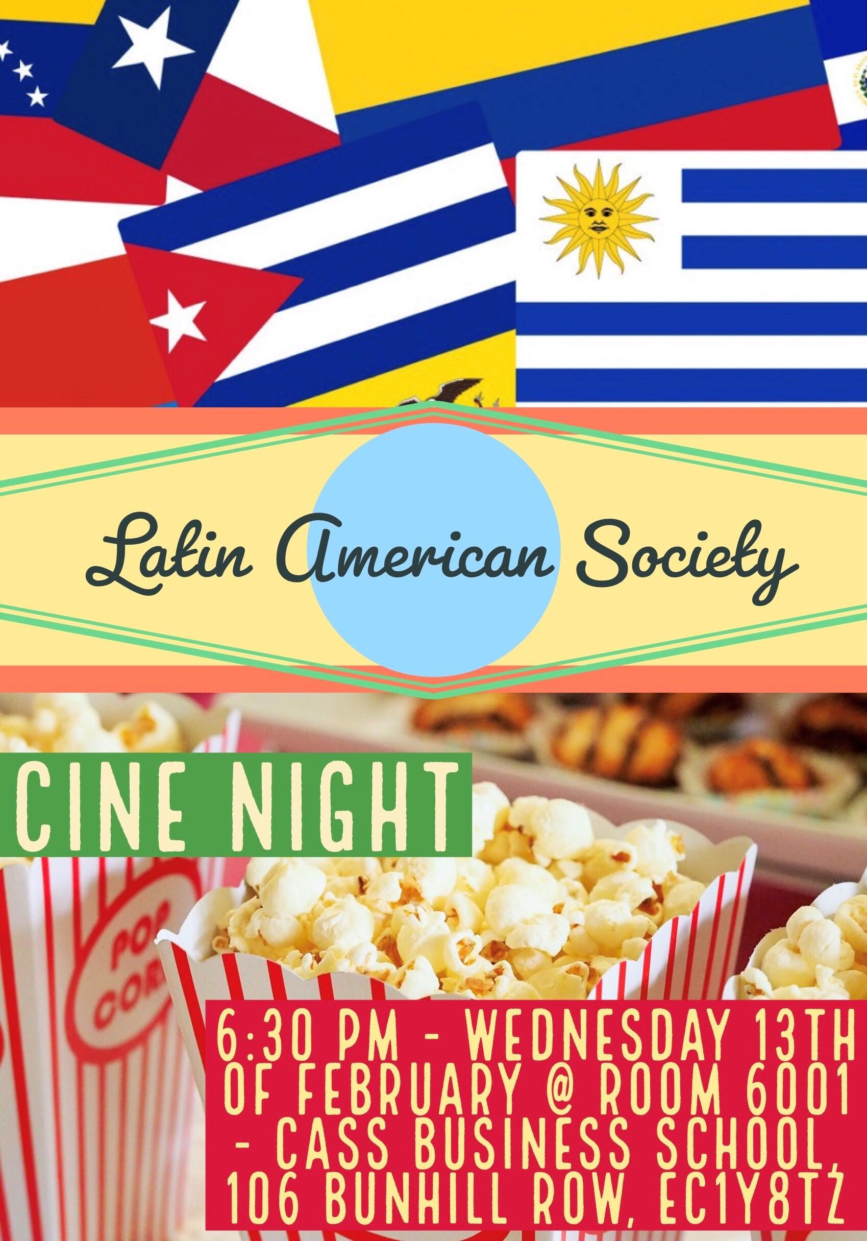 Latin American Film Night