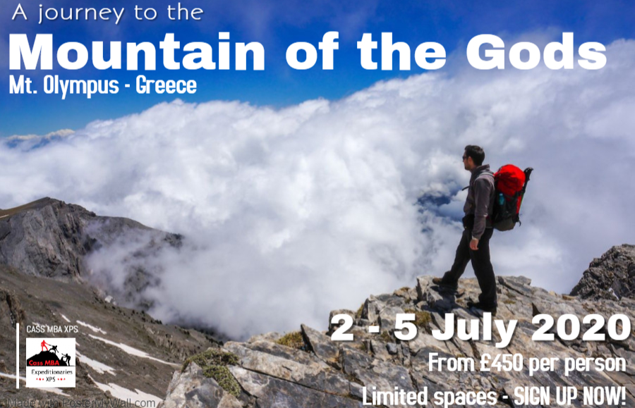 An Expedition to Mount Olympus, Greece - 2 to 5 July 2020