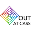 Out at Cass (LGBTQ+ Society)'s logo
