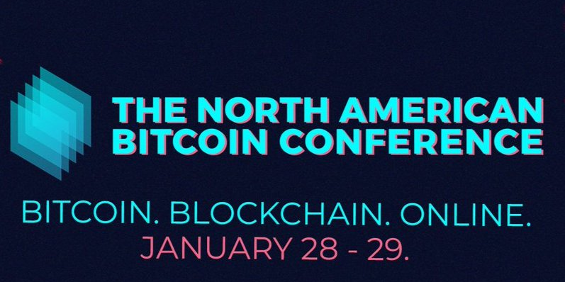 The North American Bitcoin Conference - Online Event Logo