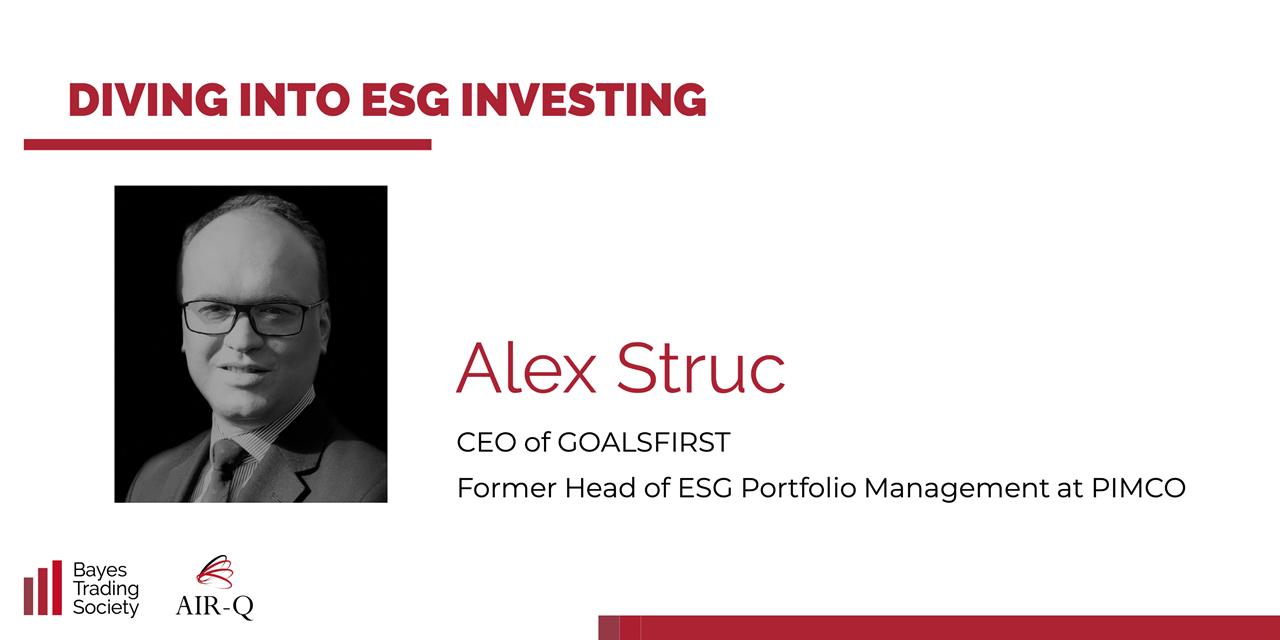 Diving into ESG Investing Event Logo