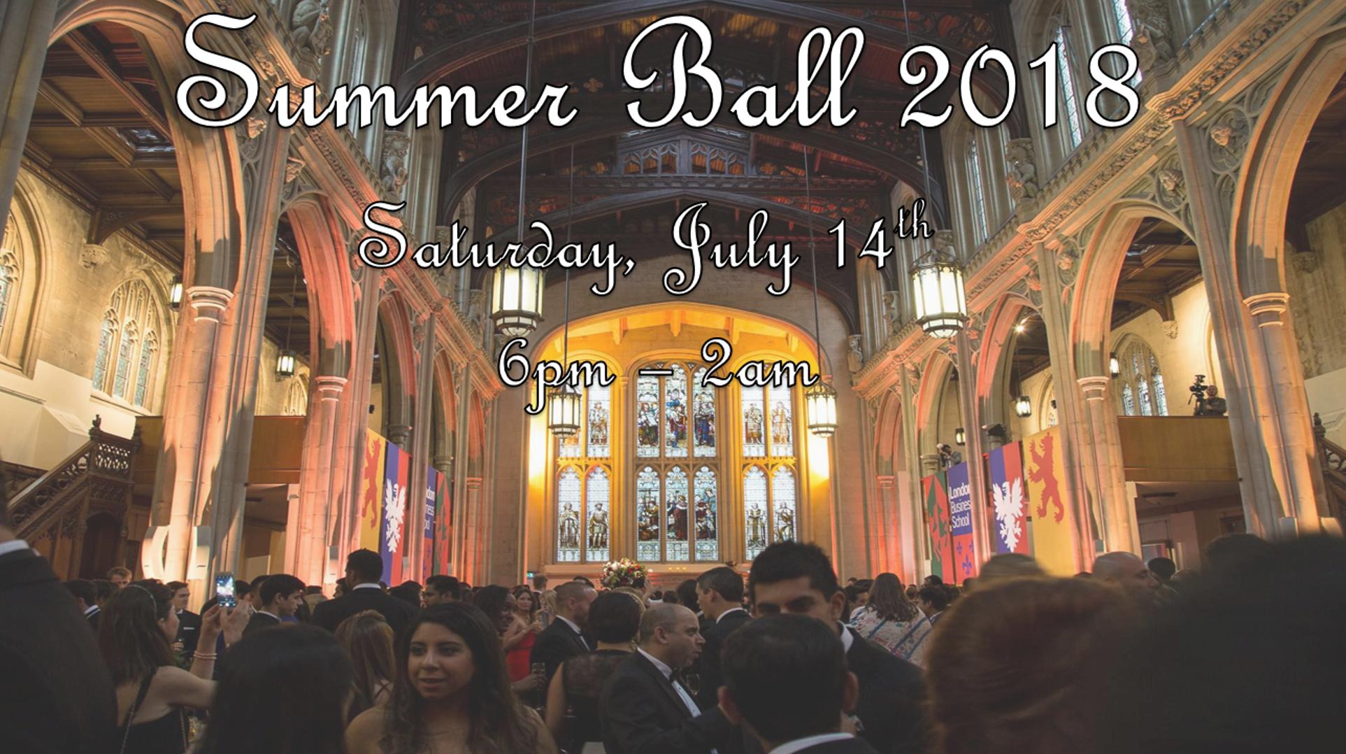 Summer Ball 2018