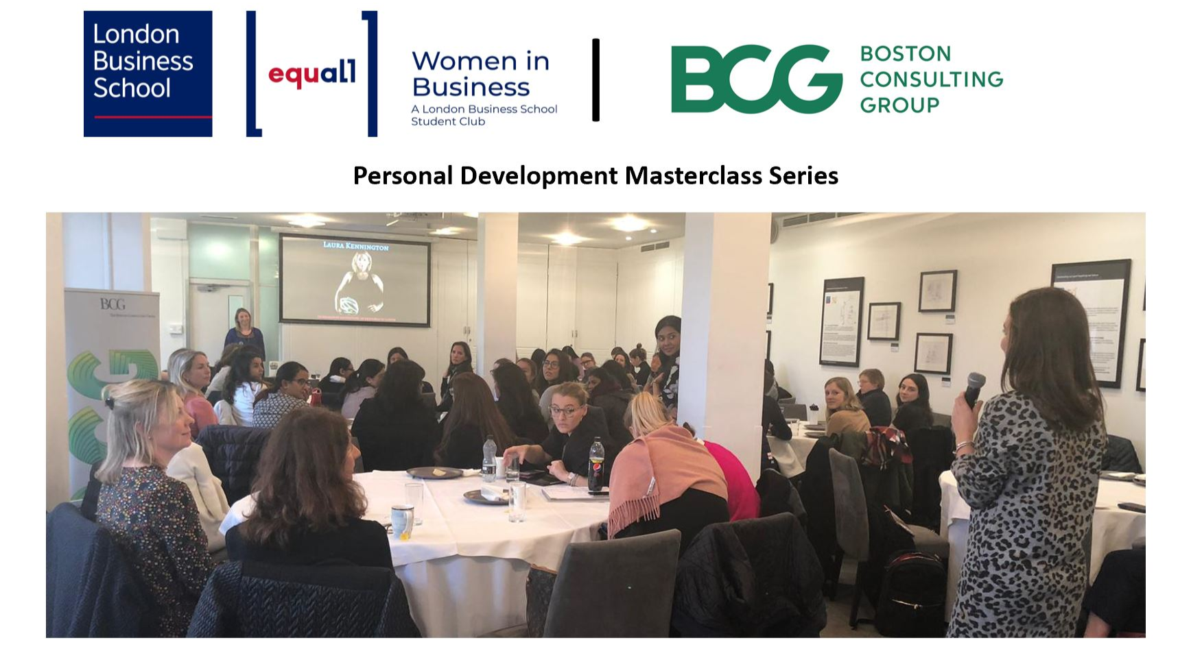 WiB Personal Development Masterclass Series [Bundle for all 4 sessions]