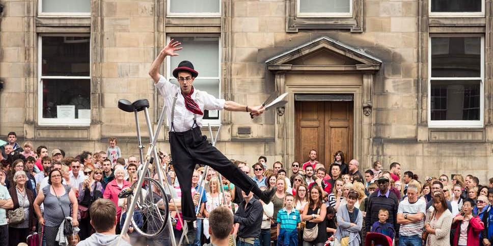Edinburgh Fringe Festival Trek