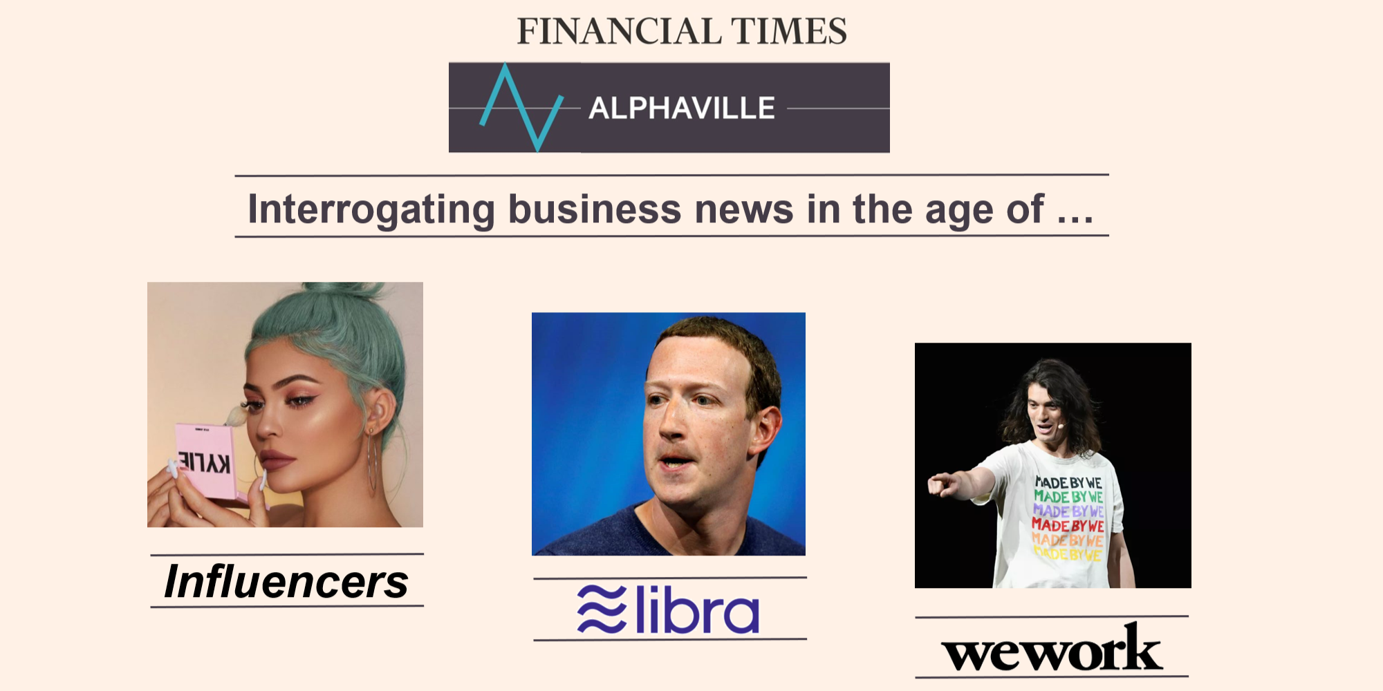 Interrogating Today's Business News with The Financial Times Alphaville Team