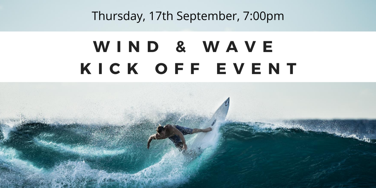 Wind & Wave Society Kick Off Event