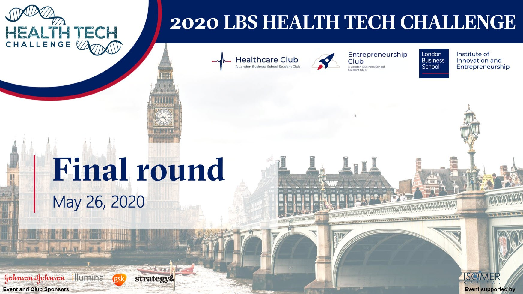 2020 Health Tech Challenge: PITCH DAY
