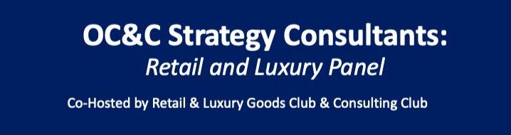 OC&C Strategy Consultants: Retail & Luxury Panel