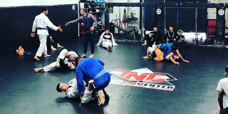 LBS MMA Training Session
