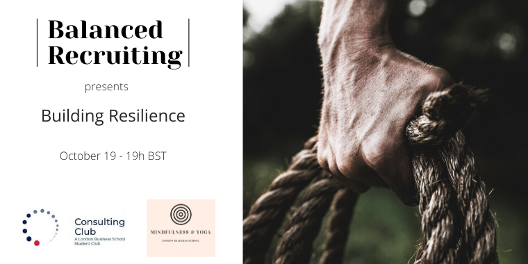 Building Resilience - Balanced Recruiting Event Series