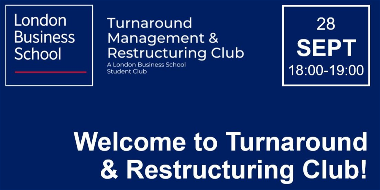 KICK-OFF: Turnaround & Restructuring Club