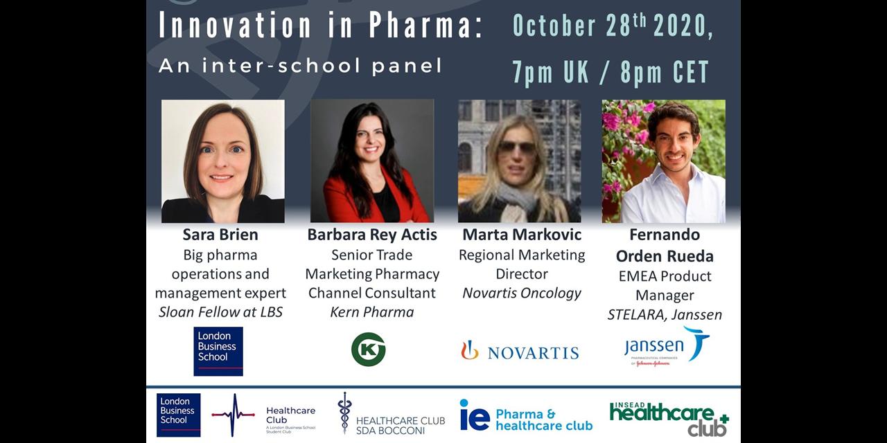 Innovation in Pharma: An Inter-School Healthcare Club Panel