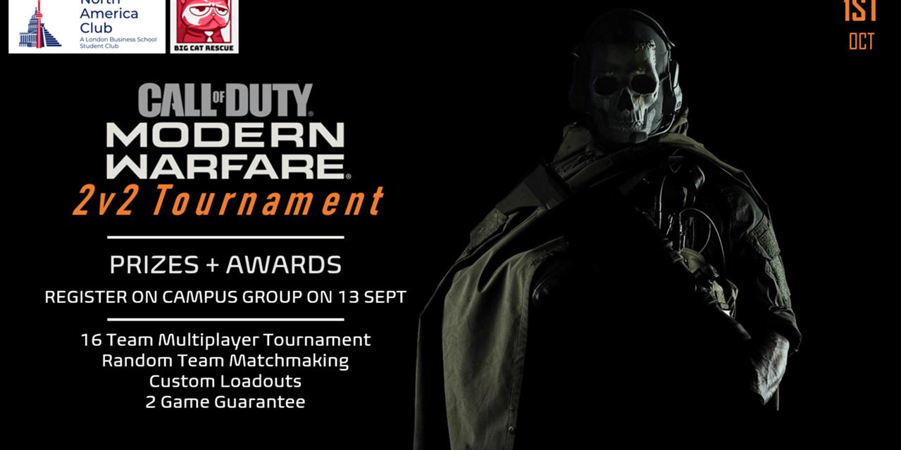 Call of Duty 2vs2 Multiplayer Tournament - North America Club
