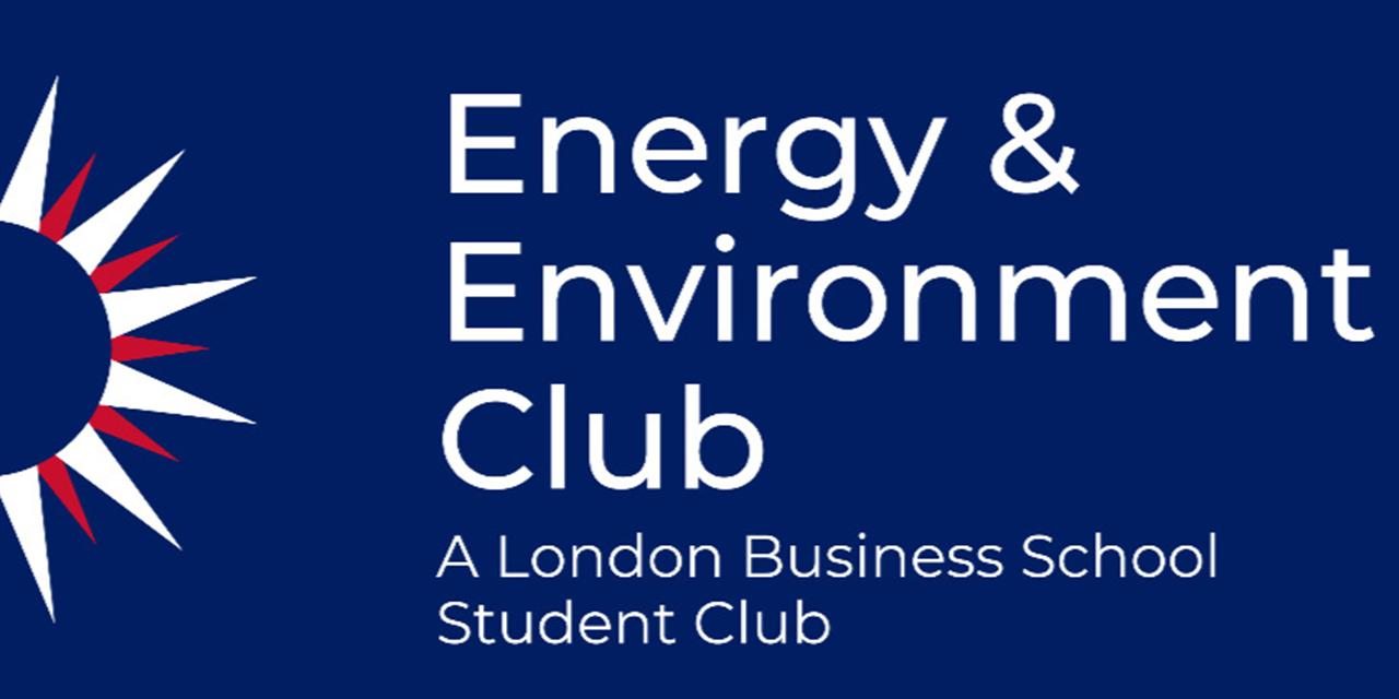 Energy & Environment Club Kickoff Event Logo