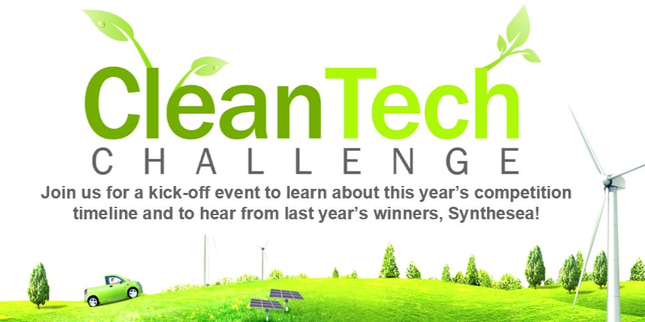 CleanTech Challenge Kick-off Event Logo
