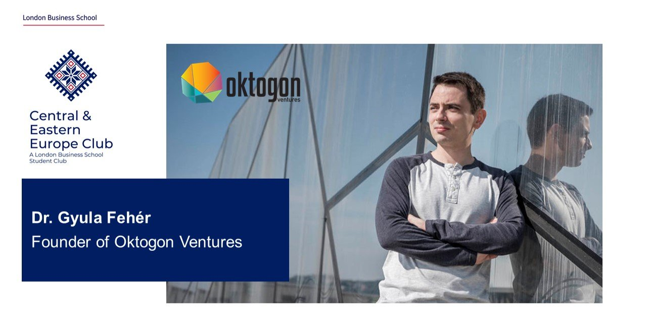 CEE Speaker Series: Chat with Dr. Gyula Fehér, Founder of Oktogon Ventures Event Logo