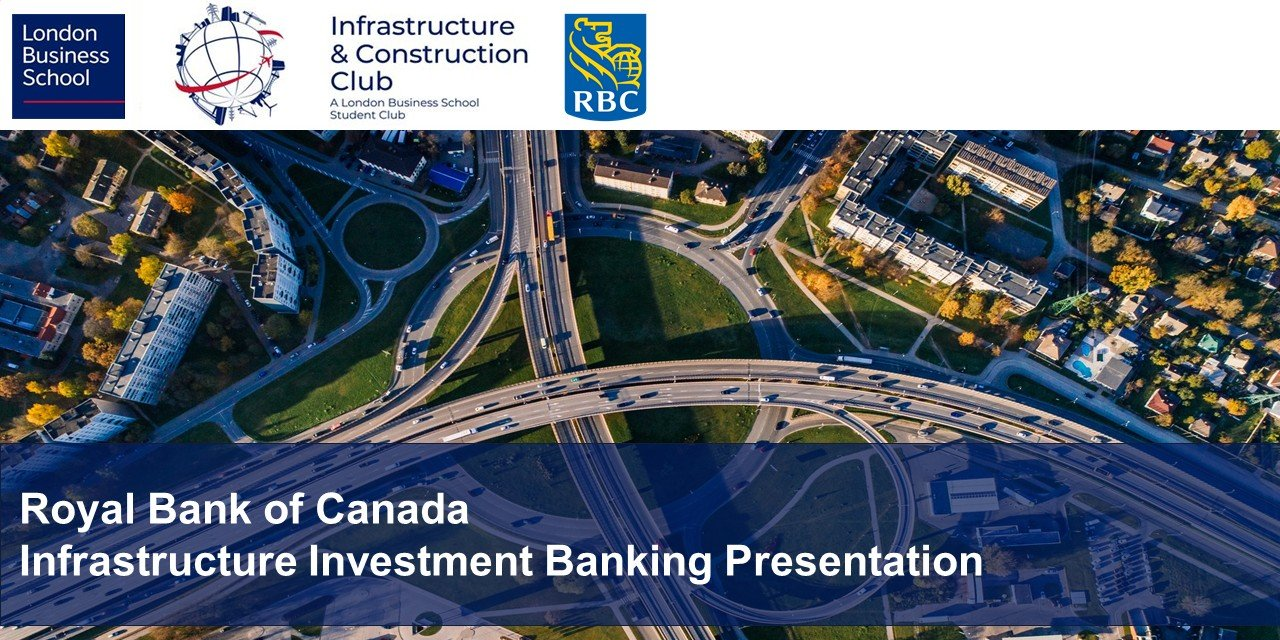RBC Infrastructure Investment Banking Presentation Event Logo