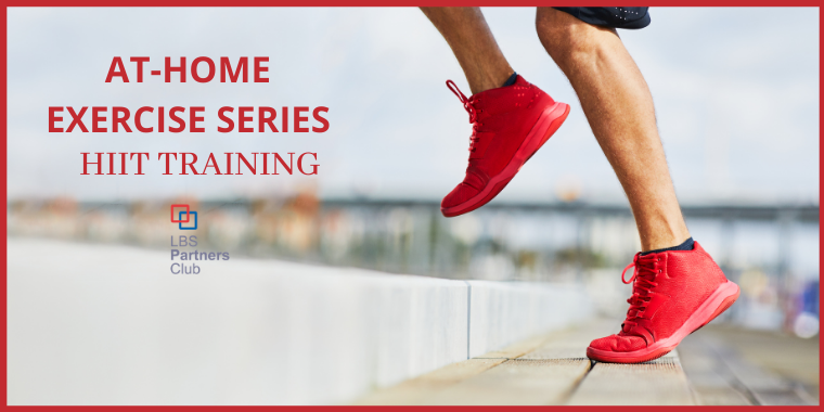 Partners Club Exercise Series: HIIT Training with Kathia Event Logo