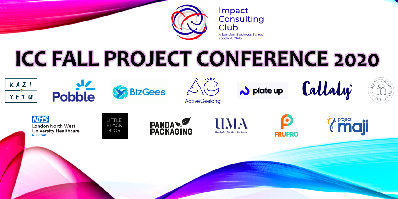 Impact Consulting - Pro-bono Fall Project Conference 2020 Event Logo