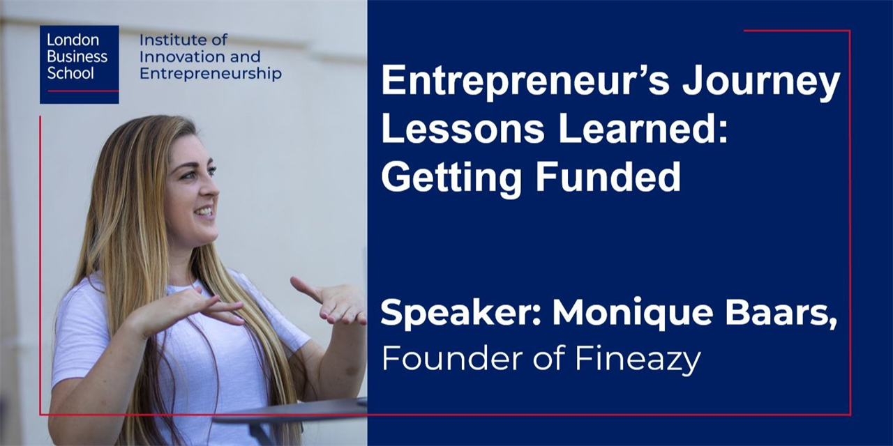 Entrepreneur's Journey: Lessons learned - Getting Funded Event Logo