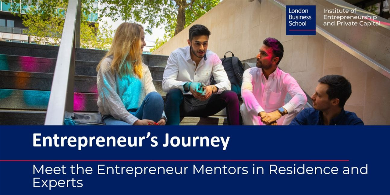 Entrepreneur's Journey series: Meet the Entrepreneur Mentors in Residence and Experts Event Logo