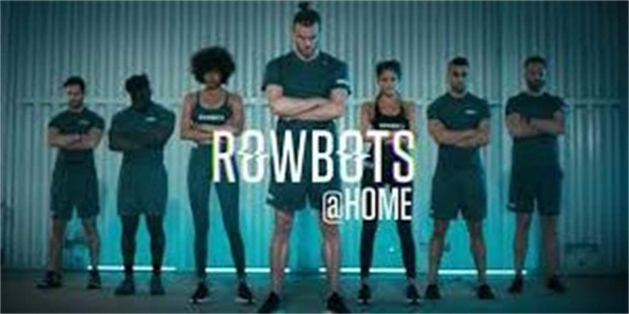 Leap Off with ROWBOTS!! Virtual Workout (No Equipment Needed) Event Logo