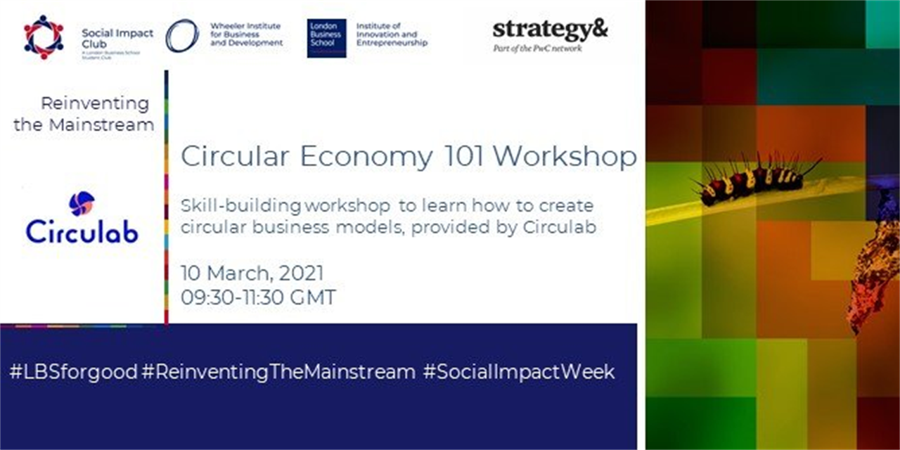 Circular Economy 101 Workshop Event Logo
