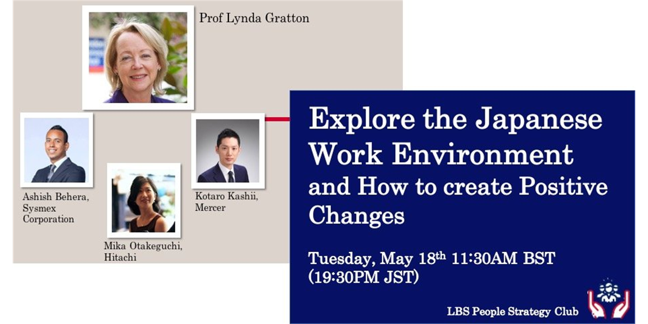 Explore the Japanese Work Enviornment and How to create Positive Changes Event Logo