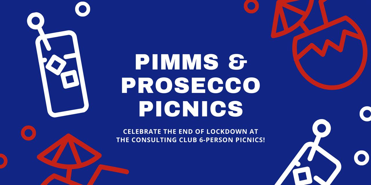 Pimms & Prosecco Picnics (FREE!) Event Logo
