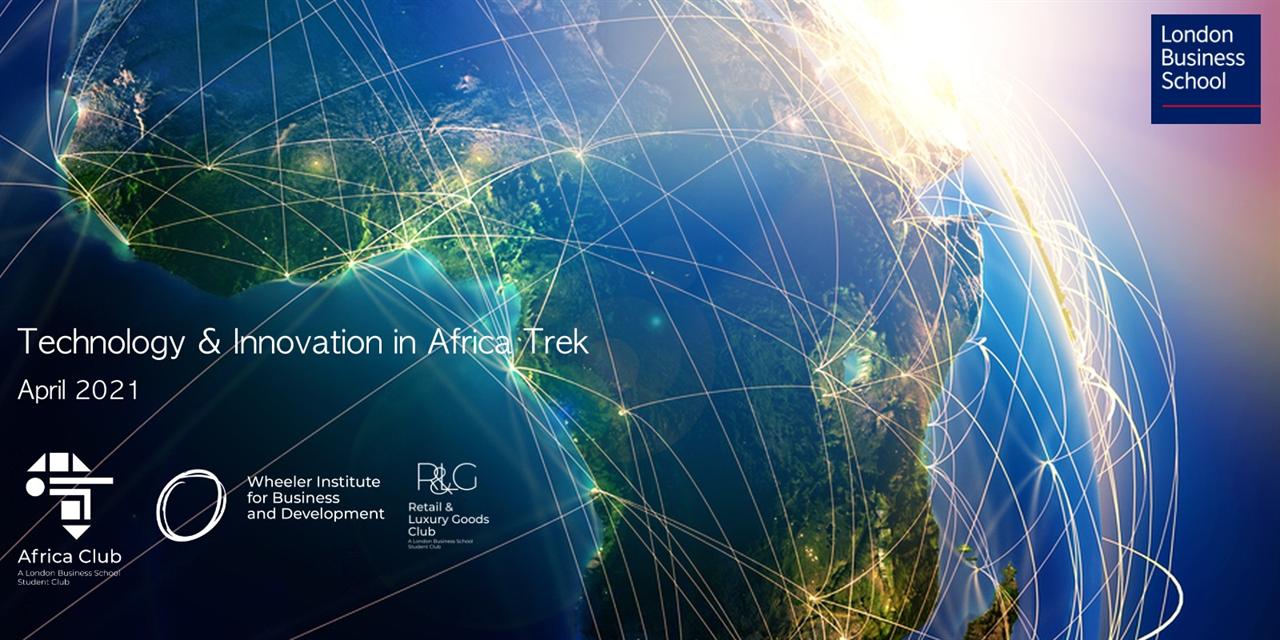 Tech & Innovation in Africa Trek - Kick Off Applications & Info Session Event Logo