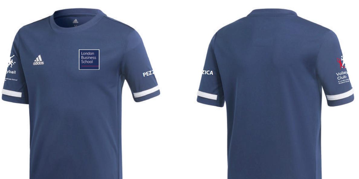 Volleyball Club Adidas T-Shirt Swag Event Logo