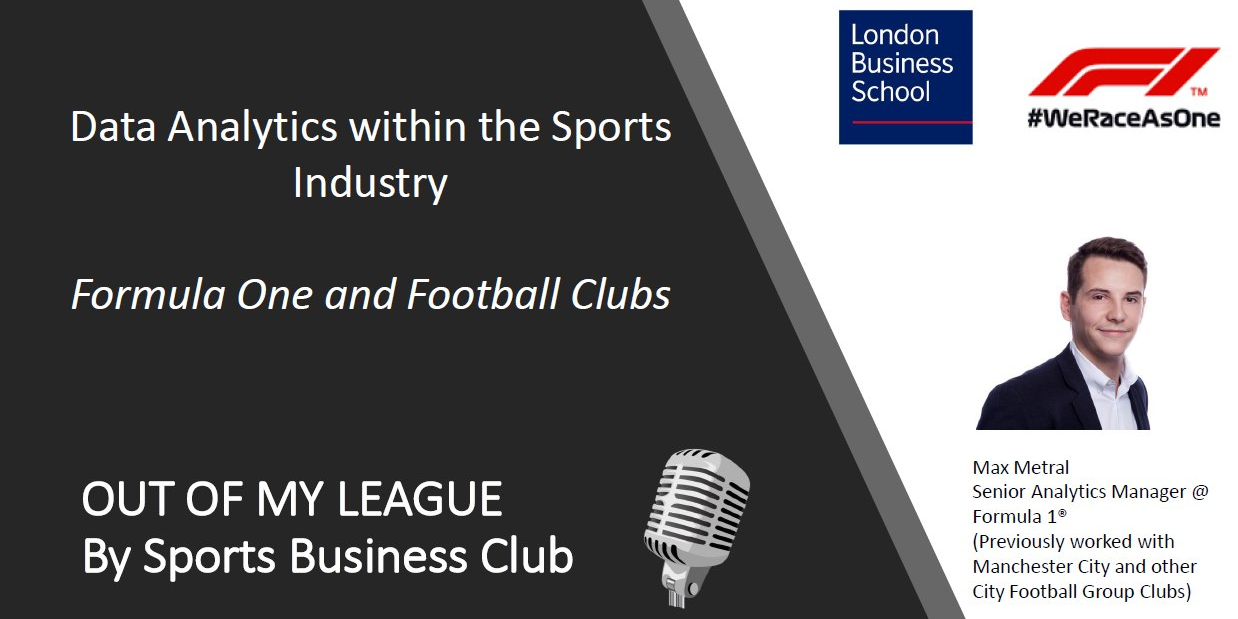 Data Analytics within the Sports Industry Event Logo