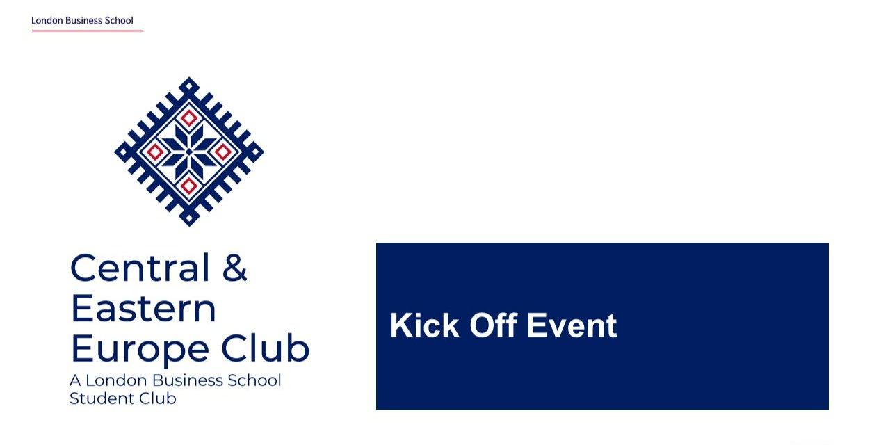 CEE Club Kick Off Event Logo