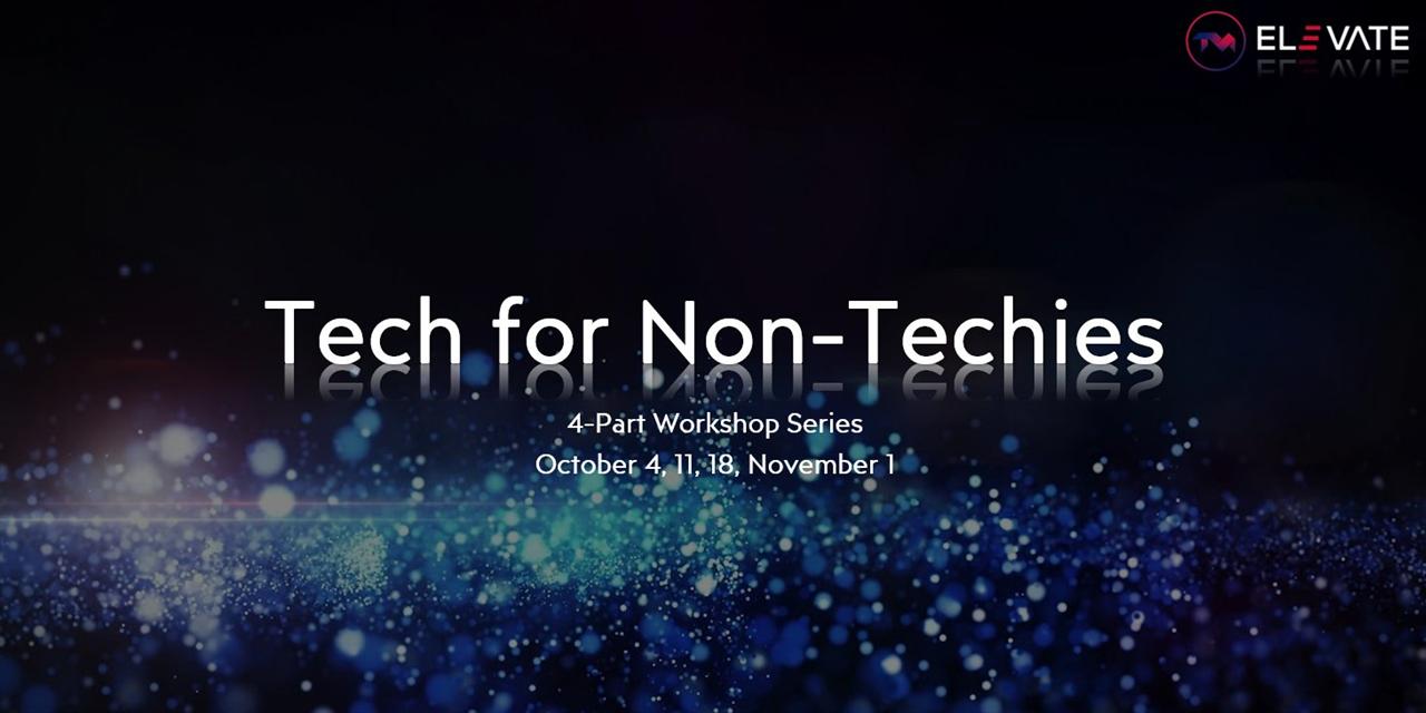 Tech for Non-Techies Event Logo