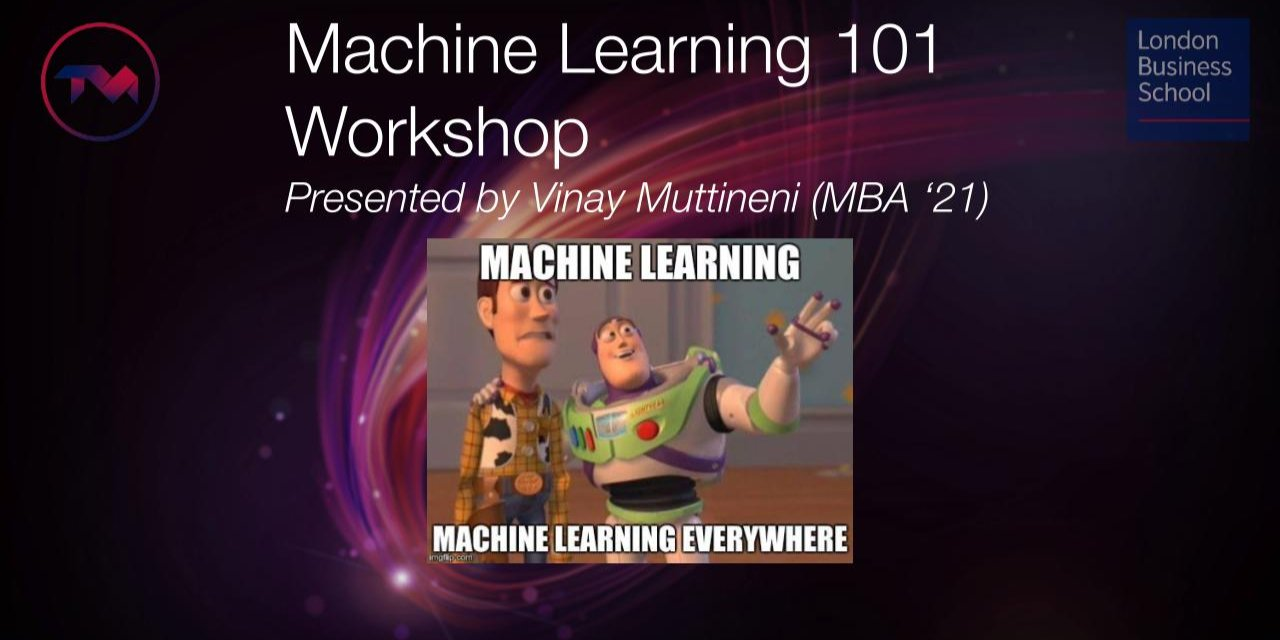 Machine Learning 101: A primer Event Logo
