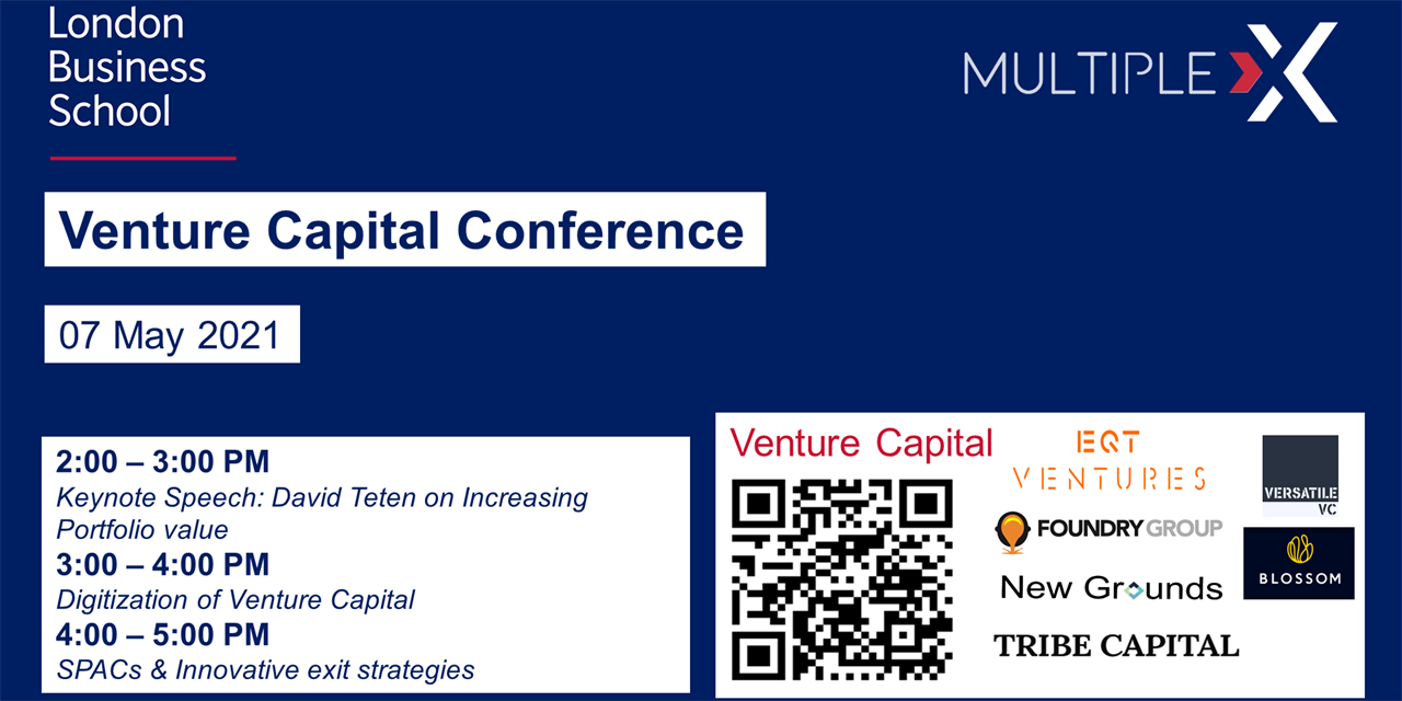 Multiple: X | Venture Capital Conference Event Logo