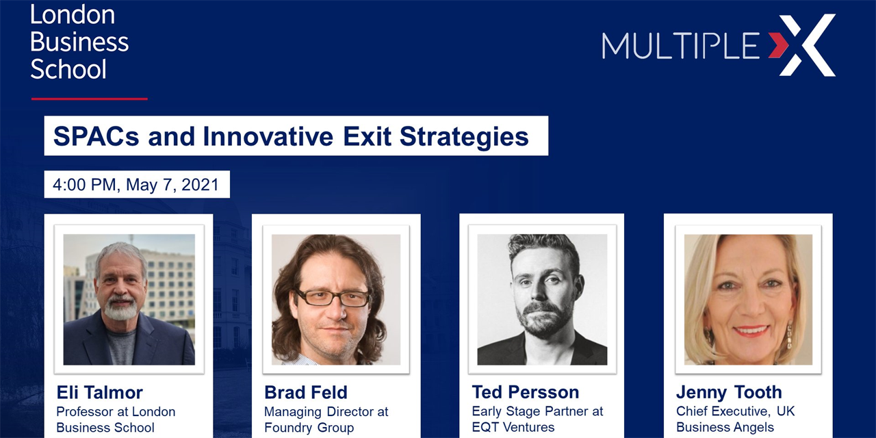Multiple:X SPACS and Innovative Exit Strategies Event Logo