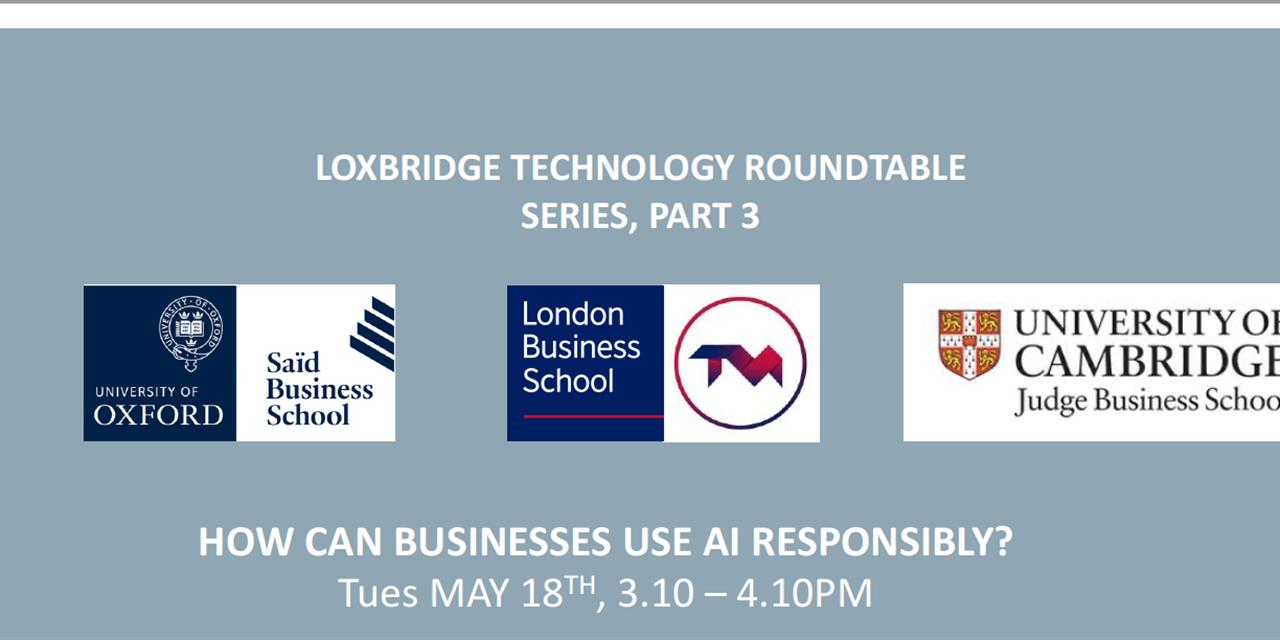 Loxbridge Roundtable Event - Oxford Edition Event Logo