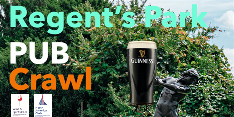 Regent's Park Pub Crawl Event Logo