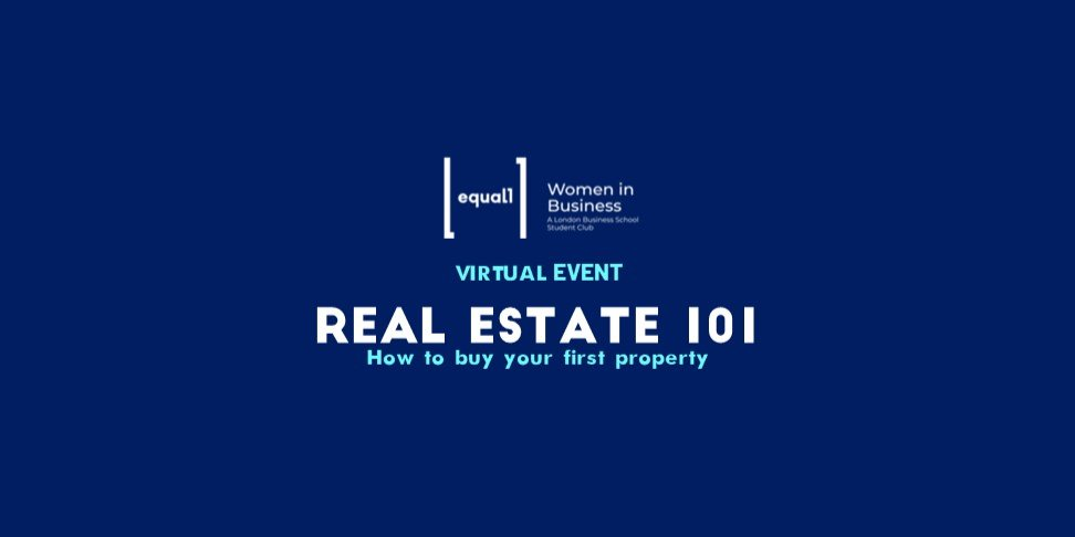 Real Estate 101: How to buy your first property Event Logo