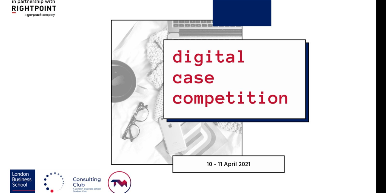 LBS x Rightpoint Digital Consulting Case Competition (Sat 11-2; Sun 4-6) Event Logo
