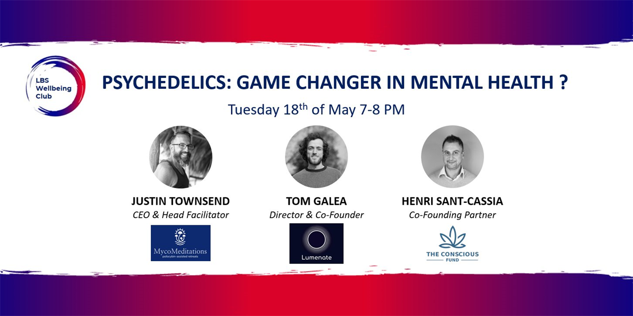 MHAW: Psychedelics - Game Changer in Mental Health? Event Logo