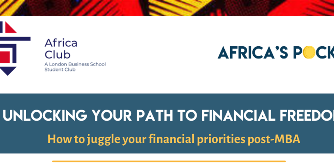 Unlocking your Path to Financial Freedom - Africa's Pocket Event Logo